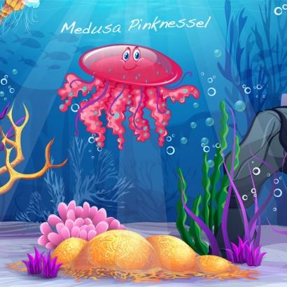 Medusa Pinknessel