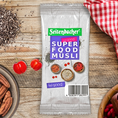 Super Food Müsli Portionsbeutel