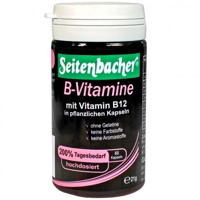 B-Vitamine hochdosiert sind vegetarisch bzw. vegan