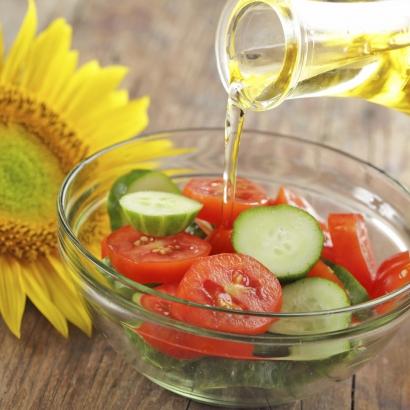 Bio Sonnenblumen Salatöl mit wertvollem Vitamin E