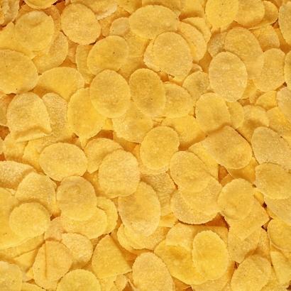 Cornflakes für ein gesundes Frühstück