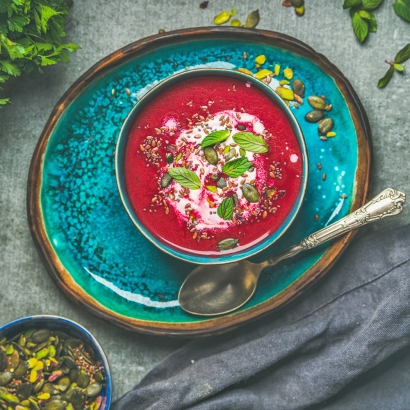 Detox Suppe rot