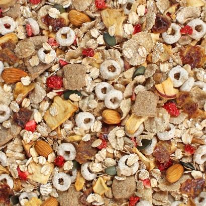 Dinkel Muesli ist die Ballaststoffquelle, der gesunde Dinkel und lecker Früchte und Nüsse sorgen für einen leckeren Geschmack.