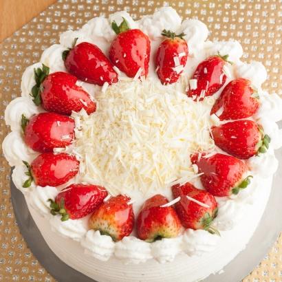 Erdbeer Kokos Torte