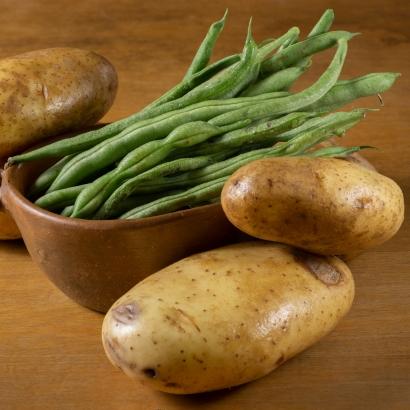 Kartoffeln Bohnen