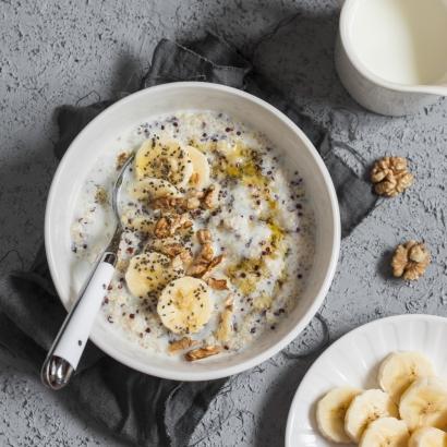 Kokos Quinoa Frühstück