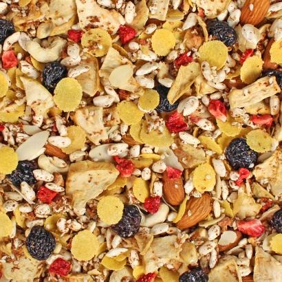 Glutenfreies Müsli ist die Alternative für Glutenallergiker, leckeres und gesundes Müsli ganz ohne Beschwerden.