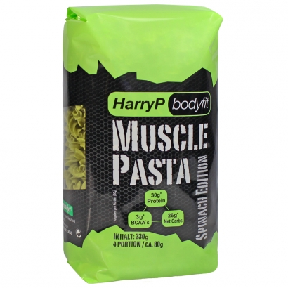 Muscle Pasta Spinat