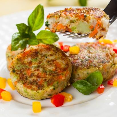 Puten Gemüse Frikadellen