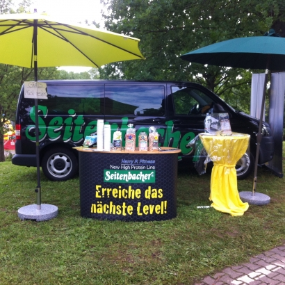 Gaukinderturnfest 2013 Remseck Mueslistand 2