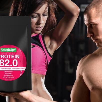 hochwertiges Whey Protein