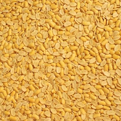 Soja Hälften als Zusatz für Brot, Müsli und Gebäck