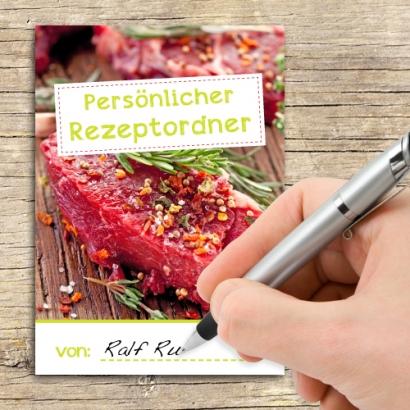 Cover Rezeptordner
