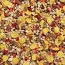 Eine Müslimischung extra für Kinder mit Erdbeeren und Schokolade