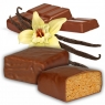 Proteinriegel Vanille mit viel Eiweiß und Vollmilchschokolade