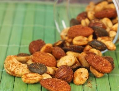 Honig Chili Nüsse
