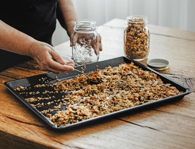 Knuspermüsli selber machen