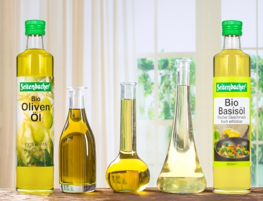 Sonnenblumen Oliven Öl