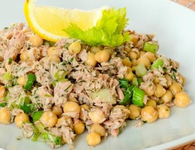 Thunfisch Kichererbsen Salat