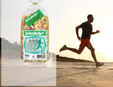 Seitenbacher Sport Müsli für Athleten die an Ihre Grenzen gehen wollen