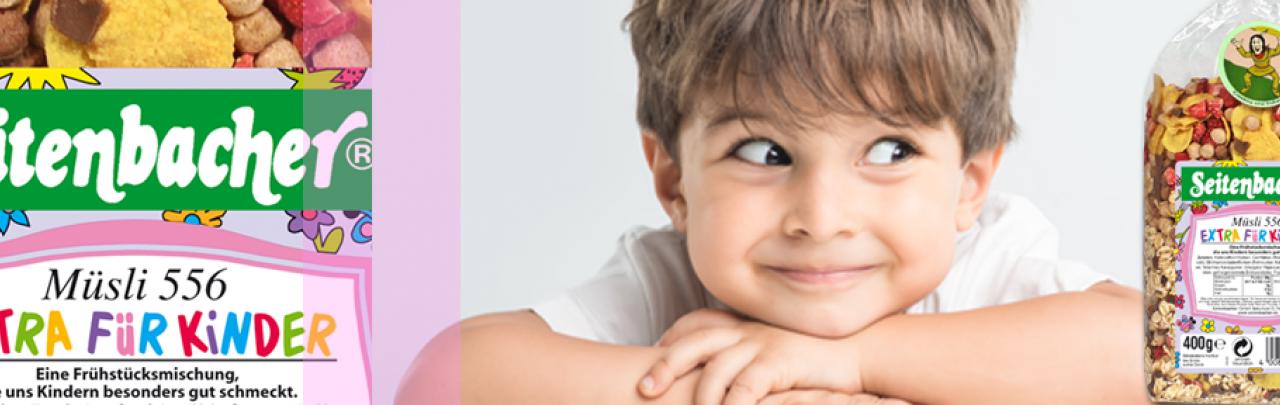 Seitenbacher Kinder Müsli ein gesundes und leckeres Fruehstueck