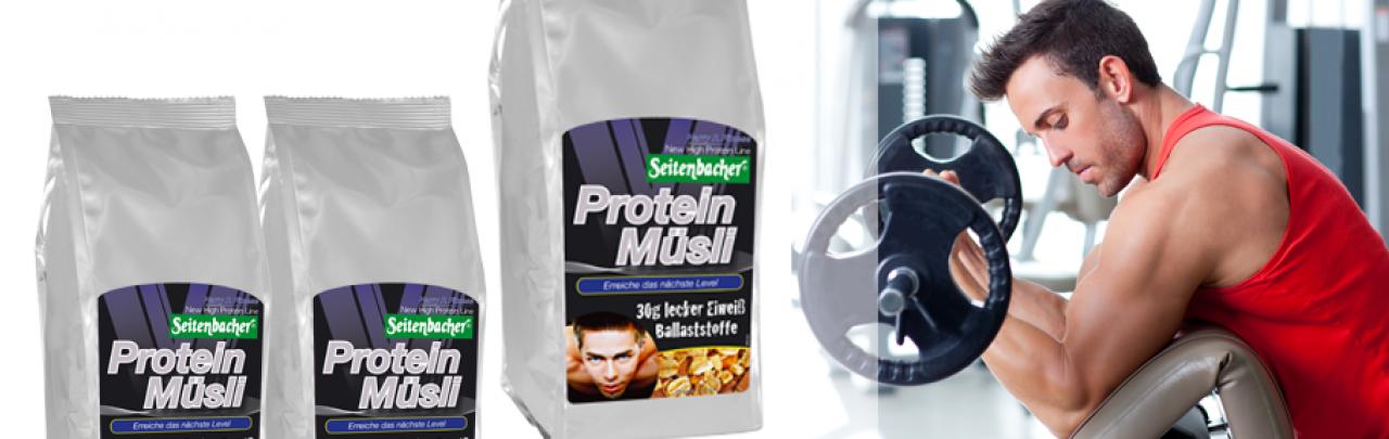 Protein Muesli von Seitenbacher 30g Protein zum Frühstück
