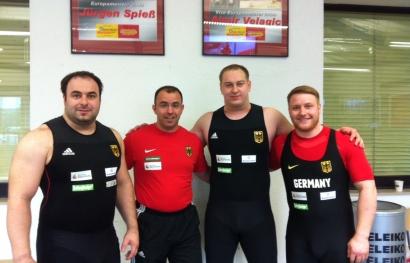 Gewichtheber Europameisterschaft 2014