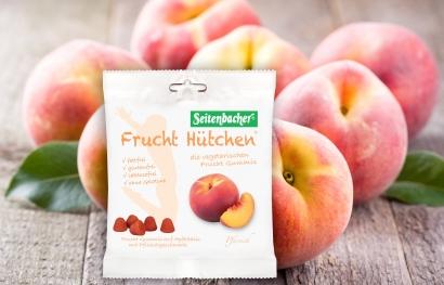 Fruchthütchen Pfirsich